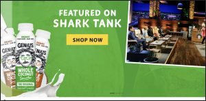 Genius Juice Photos on Sharktank Ad by Mark Nicholas