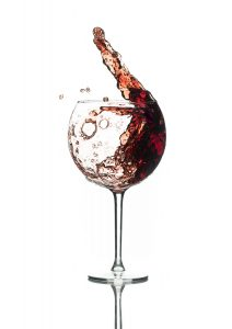 Swirling Wine by Mark Nicholas