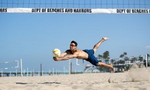 USA Volleyball Ian Satterfield by Mark Nicholas