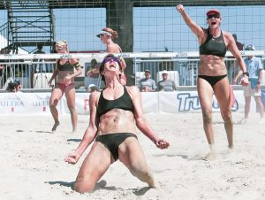 Kerri Walsh Jennings and Nicole Branagh by Mark Nicholas