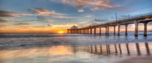 Manhattan Beach Pier by Mark Nicholas
