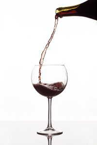 Pouring Wine by Mark Nicholas