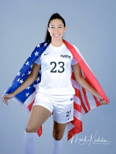 Christen Press Portrait by Mark Nicholas