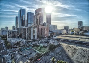 Los Angeles from the Sky by Mark Nicholas
