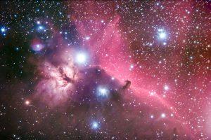 Horsehead Nebula by Mark Nicholas