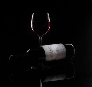 Rim Lit Wine by Mark Nicholas