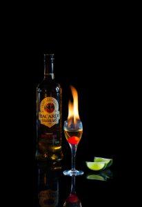 Bacardi Rum by Mark Nicholas