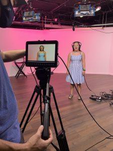 Singing in Studio